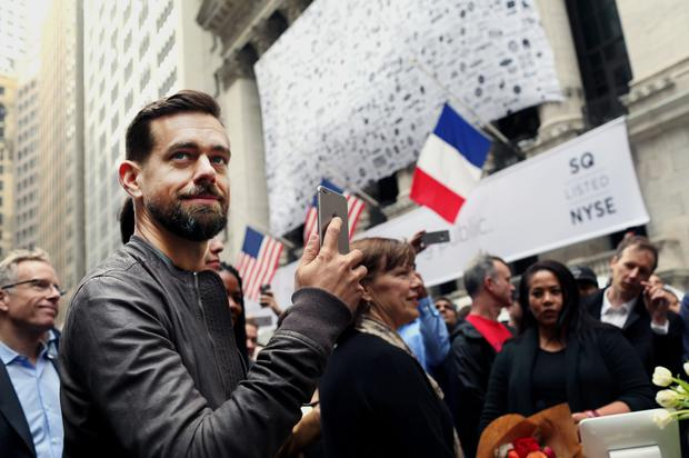 Jack Dorsey, head of mobile payments company Square