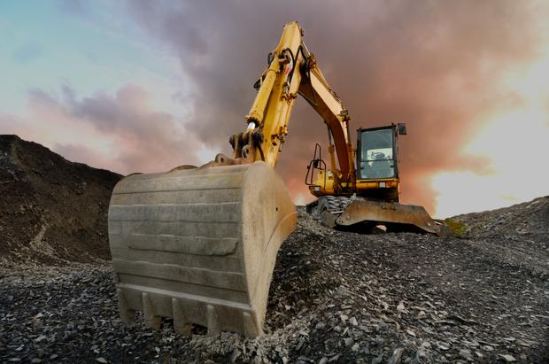 The quarry is described as a 'landfill opportunity' (stock picture)