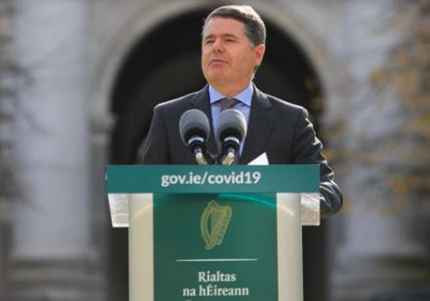 Minister for Finance Paschal Donohoe announced the commission. Photo: Gareth Chaney/Collins