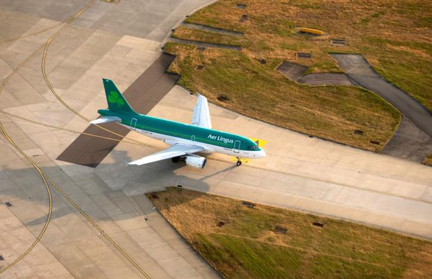 Deal: Aer Lingus slots at London Heathrow were used to secure the credit facility. Photo: Matthew Lloyd/Bloomberg