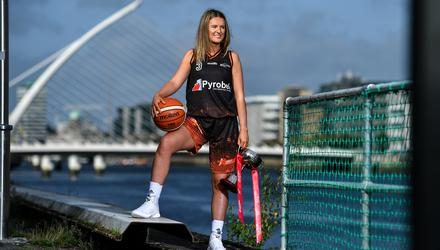 Pyrobel Killester Basketball Club co-captain Mimi Clarke is one of those waiting for the courts to reopen. Picture by Brendan Moran/Sportsfile