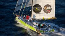 Enda O'Coineen is alone on the Kilcullen Voyager this Christmas. See www.teamireland.ie