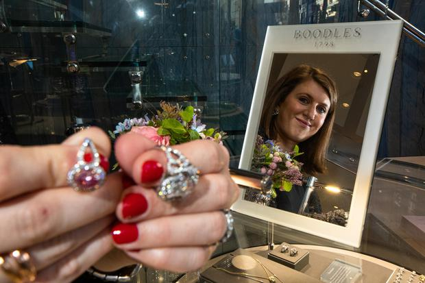 Sophie Styles at Boodles in Grafton Street, Dublin.  Photo by Mark Condren