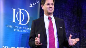 Top job: CEO Tony Smurfit'spay packageincluded shares to the value of €2.1m. Photo: Jason Clarke