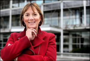 Julie Sinnamon CEO of Enterprise Ireland at their HQ at East Point Business Park. Pic. Steve Humphreys