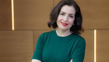 """""""I know we have made a massive cultural change in the bank. Is there more to do? Always,"""" says Francesca McDonagh. Picture: Naoise Culhane."""