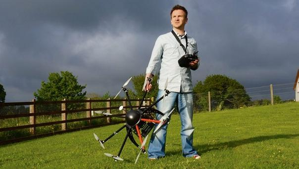 When Tomasz Firek began looking to the skies there wasn't a market for drones - but times have changed