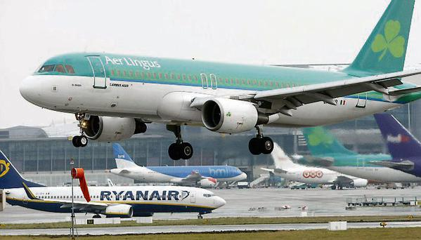 Aer Lingus and Ryanair caused the bulk of complaints, generating 91 and 90 complaints respectively