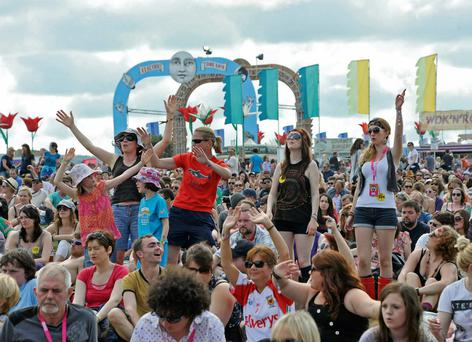Outdoor music festivals hit the right note for Festival Republic, owned by Denis Desmond