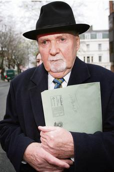 MICHAEL FINGLETON: Has an aversion to using computers