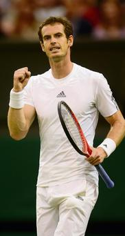 Andy Murray was this year's Wimbledon champion. Sponsor Britvic is struggling