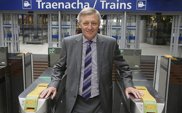 Iarnrod Eireann chief David Franks is cutting journey times