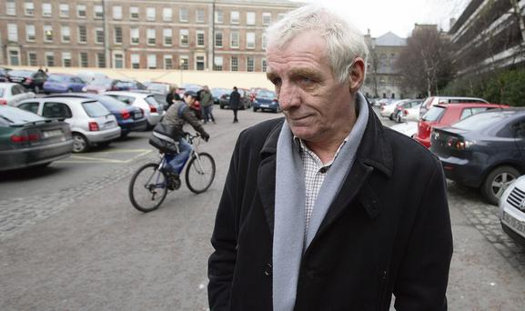PENANCE: Following a recent expiration of a 10-year driving ban, Eamon Dunphy is threatening to buy a motor car with the proceeds of his latest book, The Rocky Rock