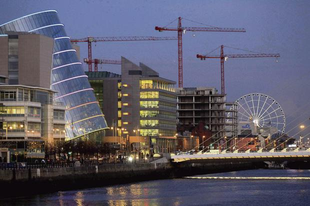 BOOST: Cranes could reappear across Dublin's skyine