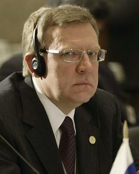 Russia's Finance Minister Kudrin