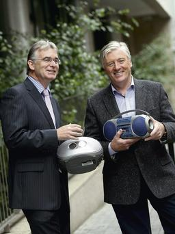 Gary Ryan, retail director, Energia and Pat Kenny