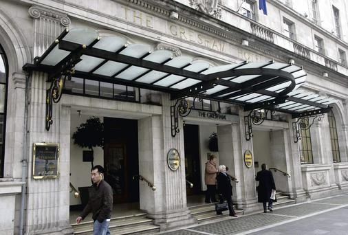 The Gresham hotel - accounts revealed that the chief factor behind group losses was a €21m property writedown