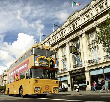 DLY MOTORING: Passenger journeys on Dublin Bus have dropped by 32.3 million since 2007. Photo: Gerry Mooney