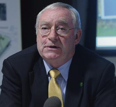 JOE WALSH: Served twice as Minister for Agriculture