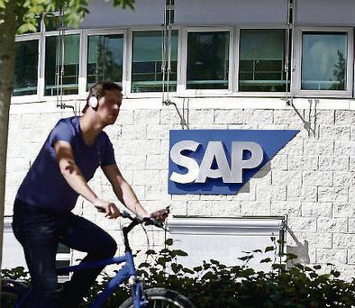 German firm SAP provides software for transactions