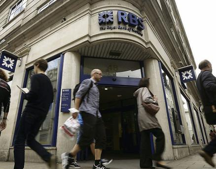 RBS is to create an internal 'bad bank'