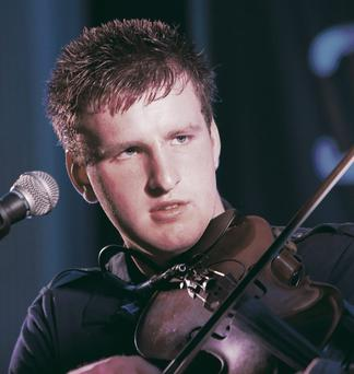 Arthur Stones, fiddler with traditional band Rauile Buaile who was critically injured in road crash in Tullamore