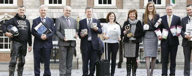 The eight finalists for this year's National Enterprise Awards.