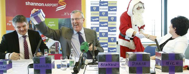 Ryanair deputy chief executive Michael Cawley