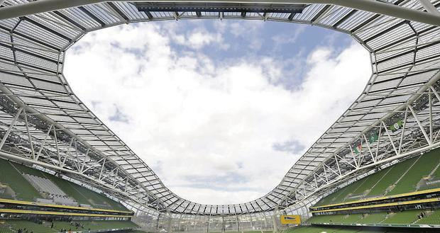 Award-winning architects Scott Tallon Walker, who co-designed the Aviva stadium, have seen revenues fall