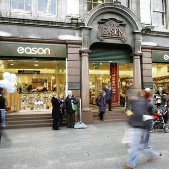 CAPITAL: Eason's flagship shop on O'Connell Street in Dublin