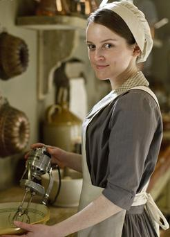 DOMESTIC SERVICE: Sophie McShera plays Daisy Mason, 'Downton Abbey's' kitchen maid