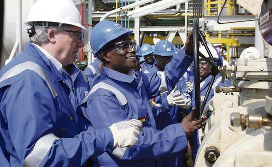Tullow is already producing oil in Ghana
