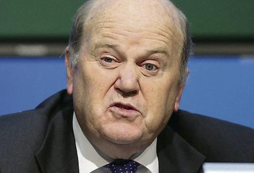 Michael Noonan, Minister for Finance