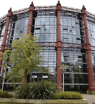 Upmarket: The Alliance gas works apartment building in Dublin is owned by Kennedy Wilson