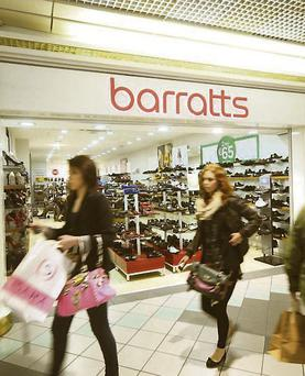 Barratts Shoes went into administration in November