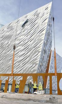 The popular Titanic visitor centre is situated in Belfast's Titanic Quarter, developed by Harcourt Developments