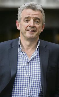 Michael O'Leary wants to increase traffic