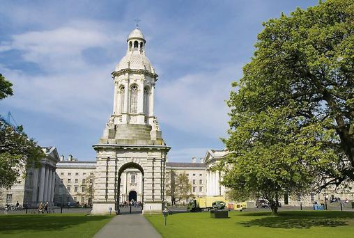 Trinity College Dublin came 37th in the global survey