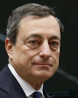 Mario Draghi: gave assurances to Michael Noonan