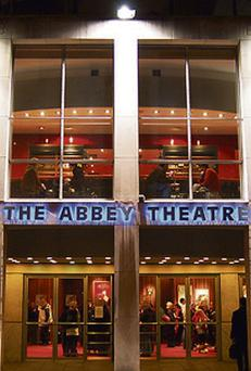 ON THE WINGS: Abbey Theatre and accountant Paul Smith