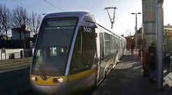Luas Heuston station. Photo: Mark Condren.