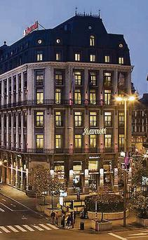 Marriott Hotel, Brussels use new check-in service