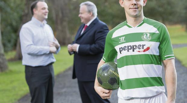 Pepper has signed a three-year deal with Shamrock Rovers