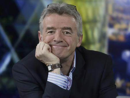 NICE GOING: Michael O'Leary is putting new emphasis on customer relations, but the changes will take months to assess. Photo: Matthew Lloyd/Bloomberg