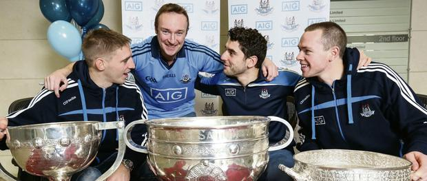Dubs and Sam Maguire Cup