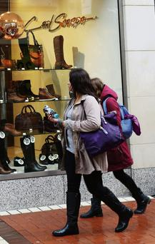 Figures suggest people are starting to spend again