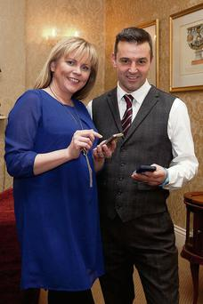 Jason O'Reilly, Pride Watches with Samantha Kelly, host of the #Irishbizparty meet-up