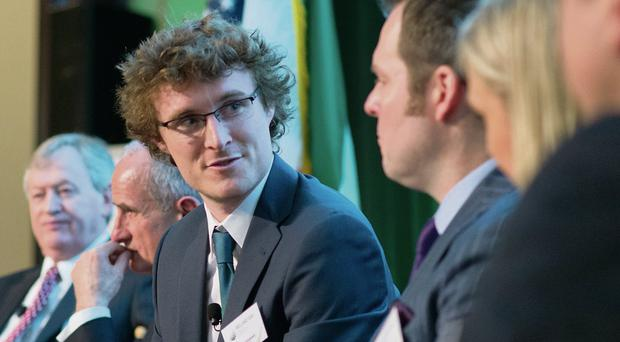 Paddy Cosgrave of The Summit at the New York event.