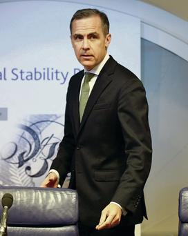 PAY YOUR WAY: Bank of England governor Mark Carney wants bankers to defer the receipt of part of their bonus for several years. Photo: Simon Dawson/Bloomberg