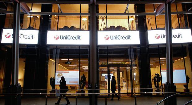 Unicredit Bank headquarters in Milan